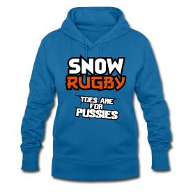Snow Rugby Hoodie